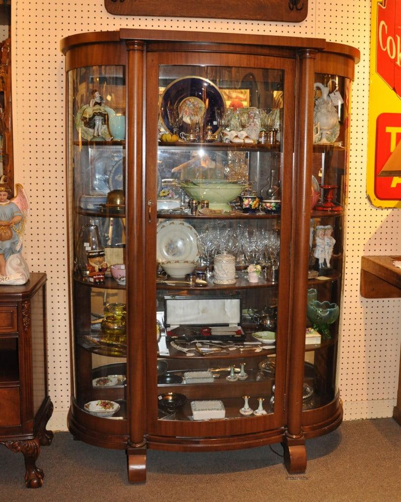 Vaisselier vitr en acajou catalogue les antiquit s bolduc - Le bon coin meuble vitrine ...